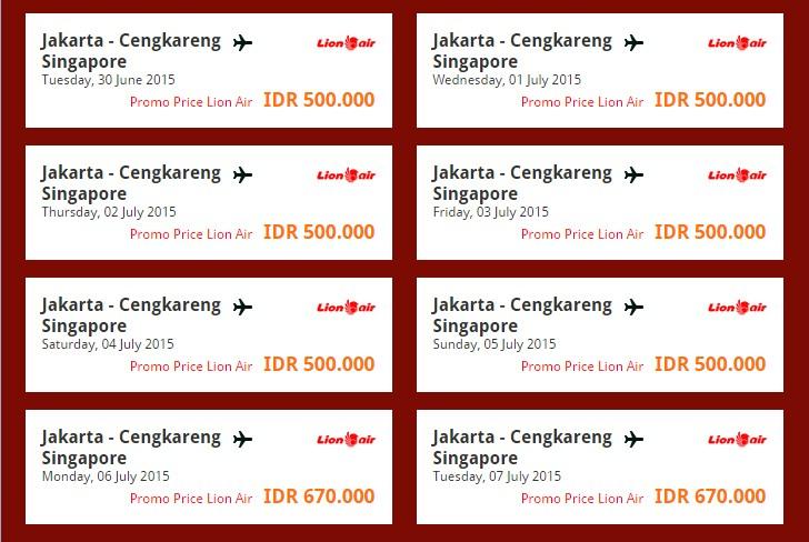 Info Tiketku Jadwal Dan Harga Tiket Promo Pesawat Lion Air Terkini