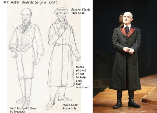 Holly's design for Lord Aster, as worn by Ray Dooley. Photo by Jon Gardiner.