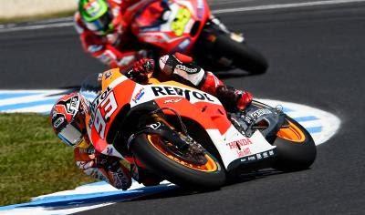 Marquez Kualifikasi Motogp Phillip Island