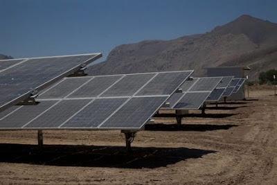 proyecto solar en chile