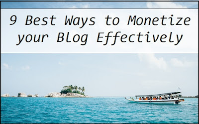 Best Ways to Monetize your Blog