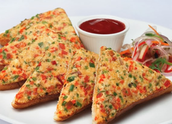 ... Chilly Cheese Toast (Recipe Of Chilly Cheese Toast) - Food Factory