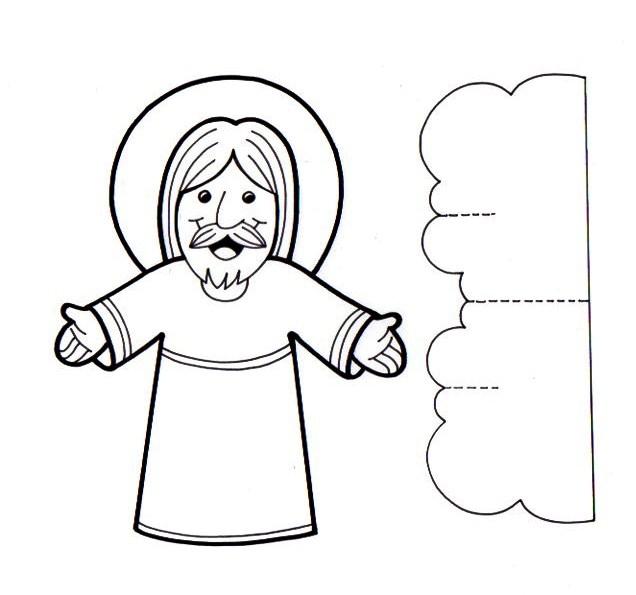 Иисус христос поделка