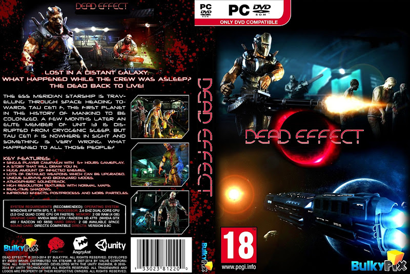 Capa Dead Effect PC