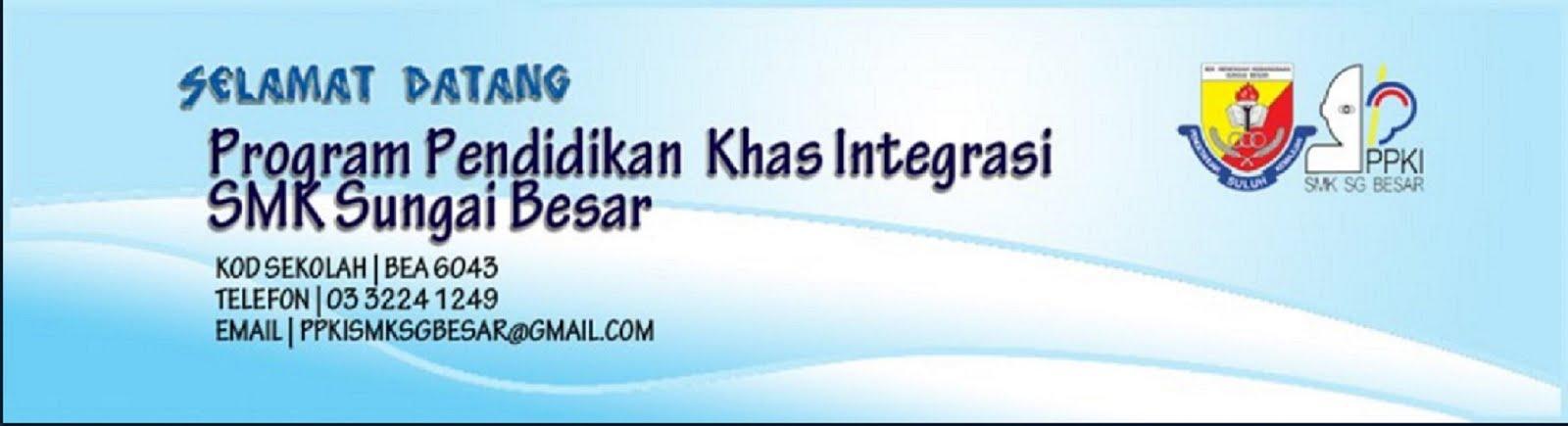 Selamat Datang ke Laman Web PPKI SMK Sg. Besar