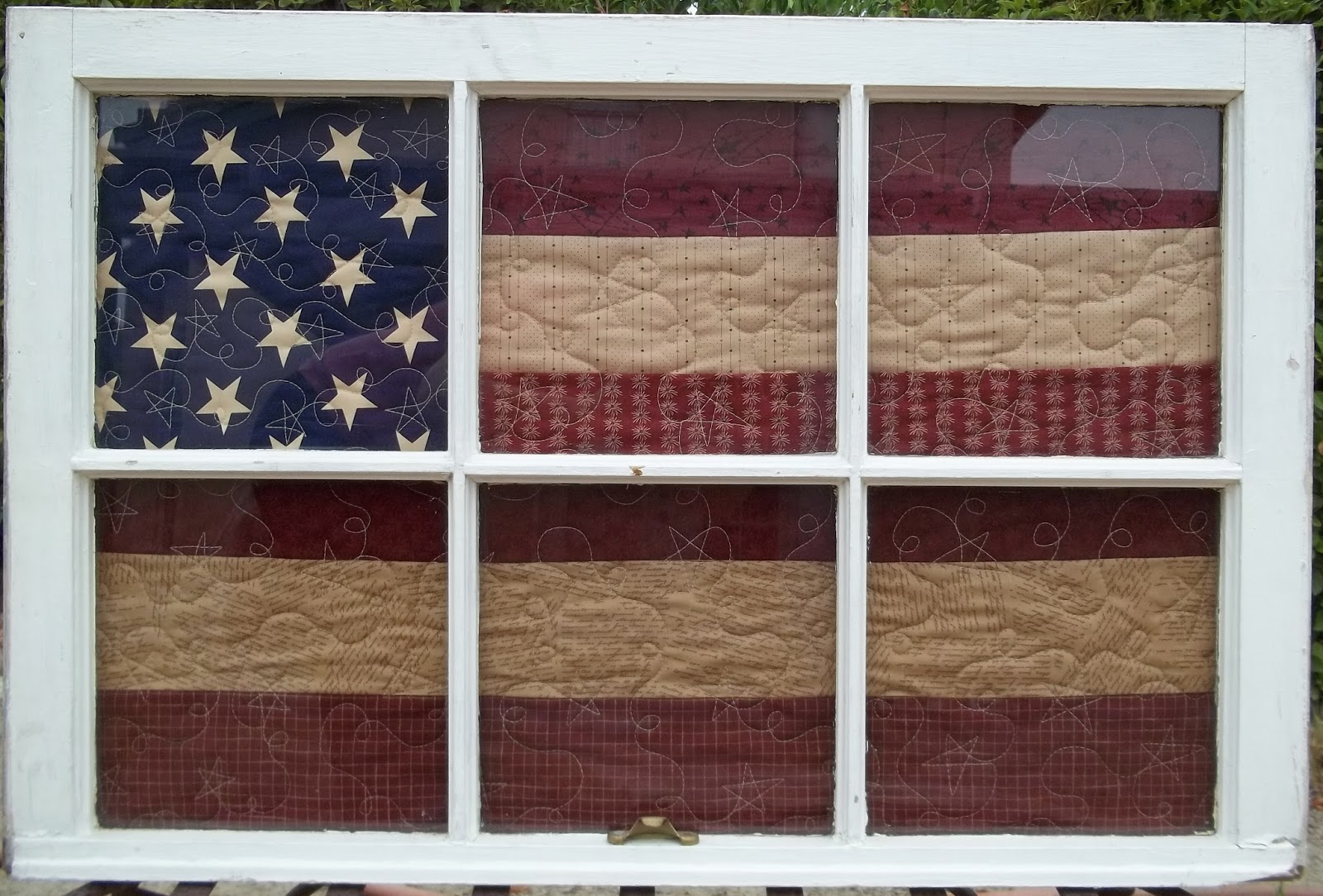Wooden Window Frame Crafts Simply Put Plus Window Quilts
