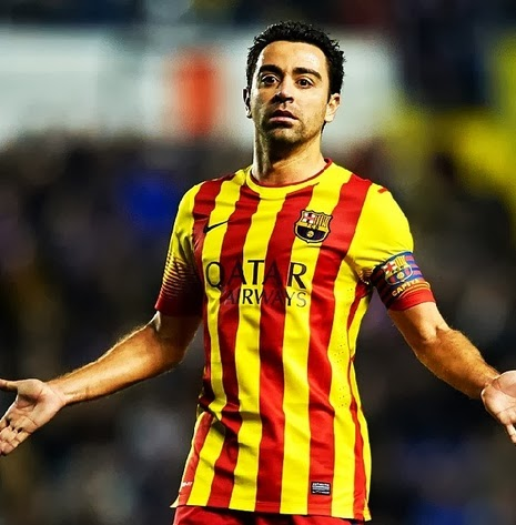 Related image with Xavi Hernandez Hairstyle 2014
