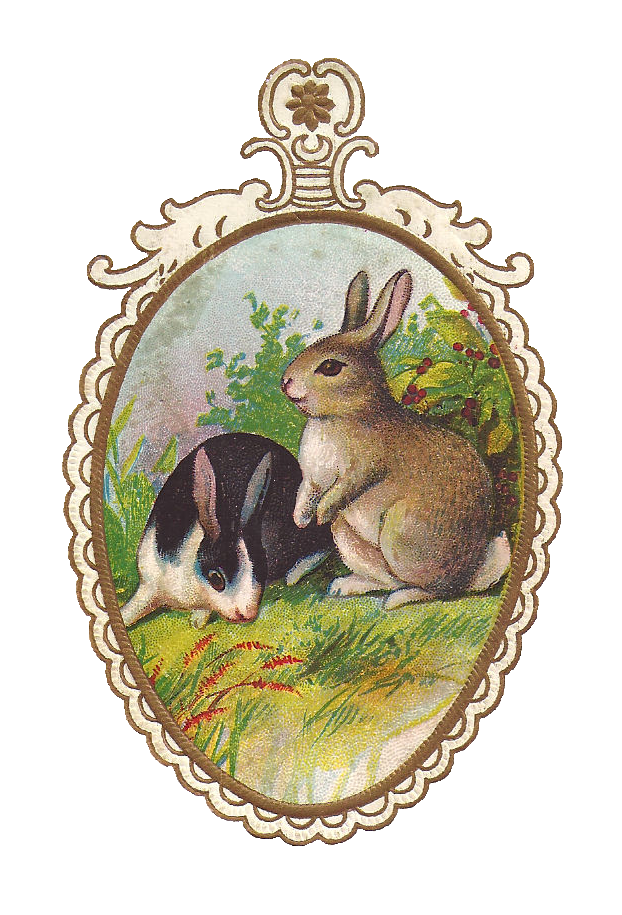 vintage easter bunny - photo #32