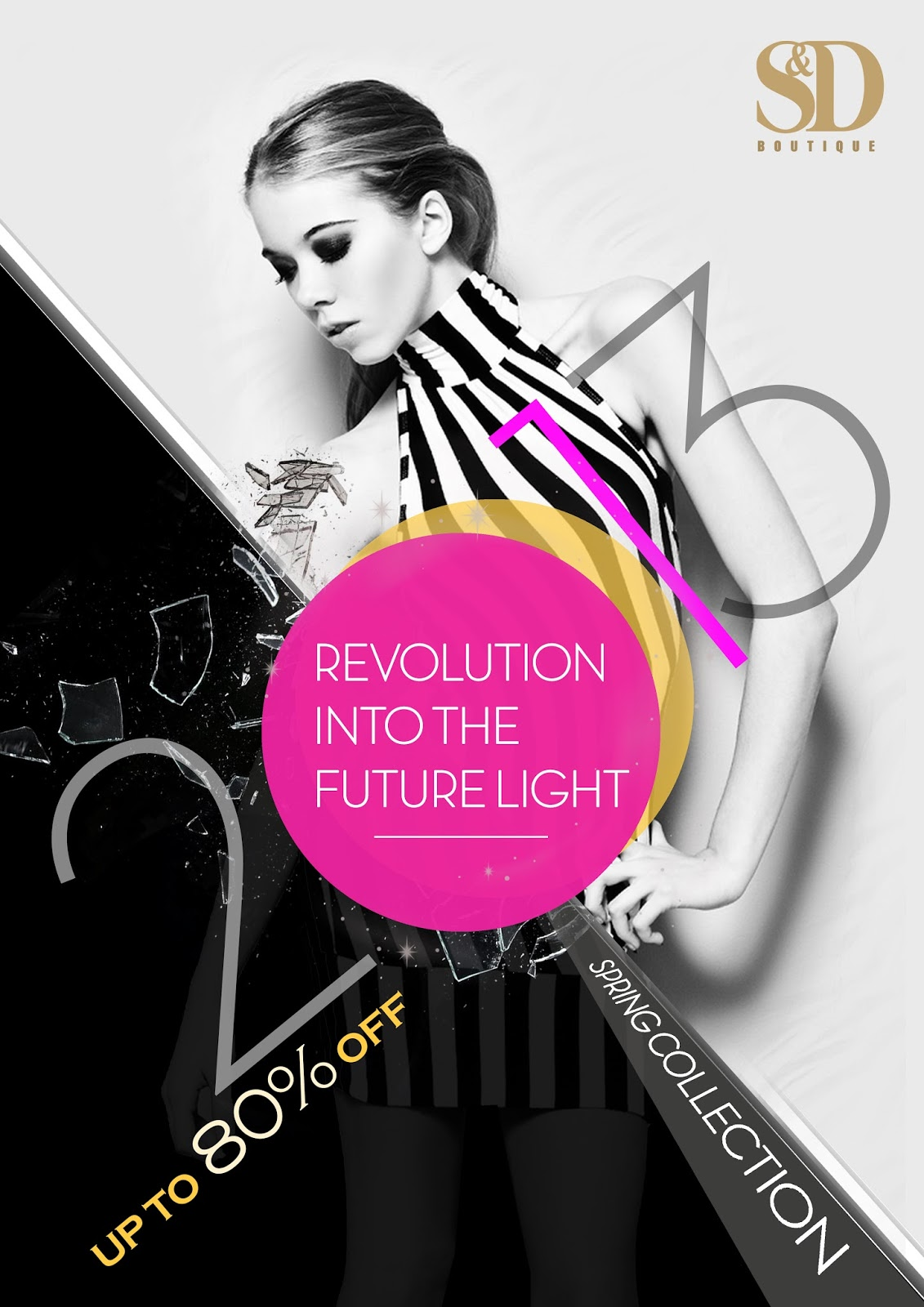 Boutique Poster Design_by Anice Choo  Fashion Design Posters