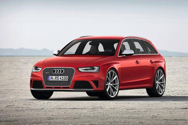 2013 Audi RS4 Avant Front Exterior