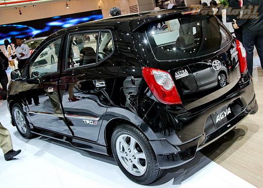 Warna Astra Toyota Agya - Black