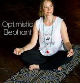 Optimistic Elephant Yoga Mats