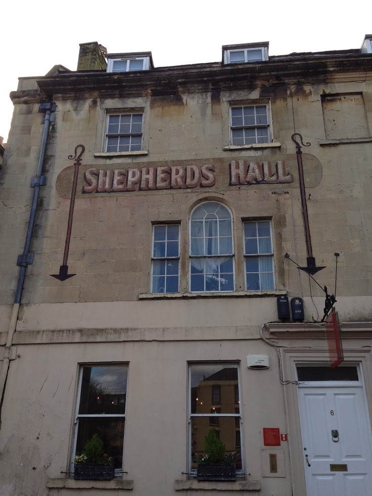 Ghost sign, Bath