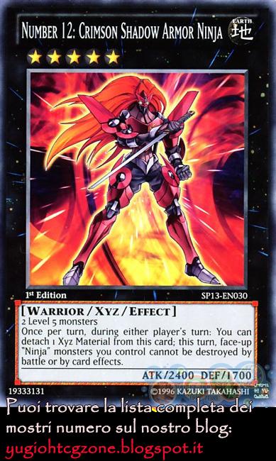 Numero 12: Ninja Armatura di Ombra Scarlatta (Blade Armor Ninja)