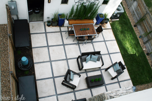 Modern Patio for Entertaining