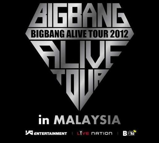 Artis Korea Big Bang Akan Datang Ke Malaysia Sempena Big Bang Alive Tour 2012 Di Malaysia