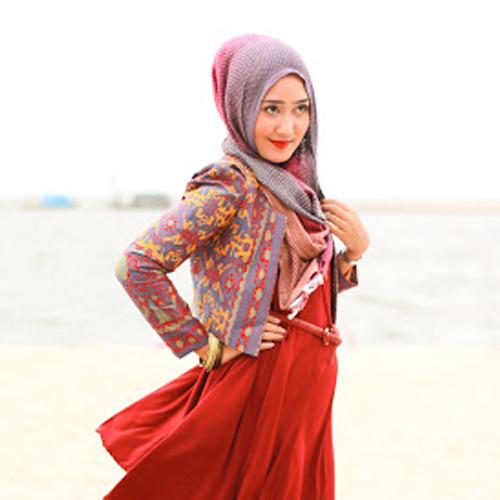 Model Blazer Muslimah Hairstyle Gallery