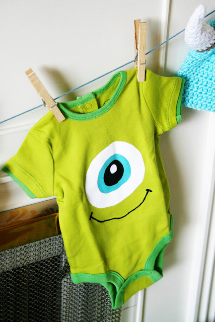 Monsters Inc Mike Onesie