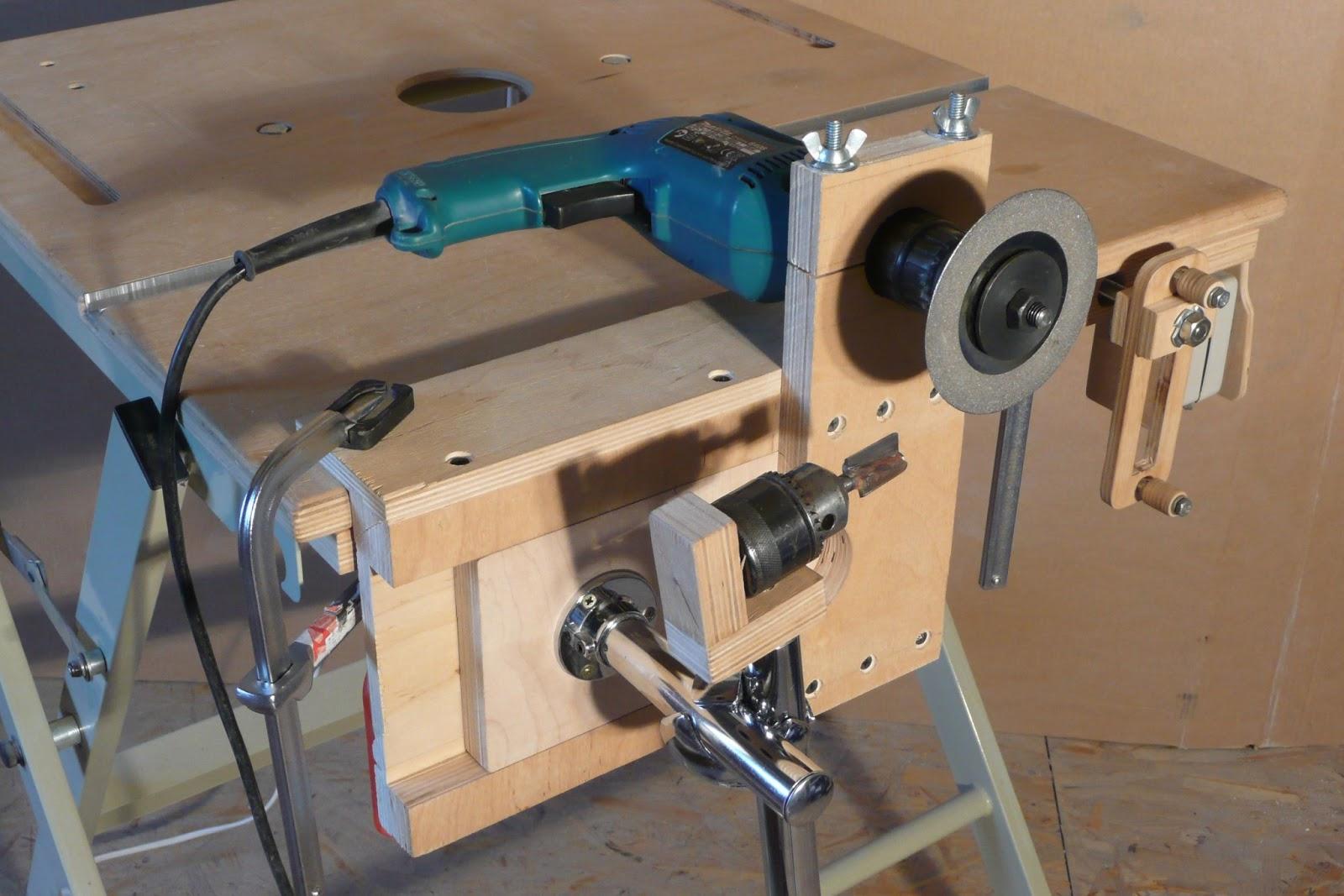 Самодельные станки и приспособления для мастерской своими руками 984