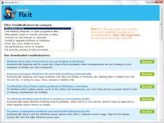 Fix It : Troubleshooters Suite from Microsoft