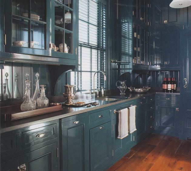 Blue Grey Kitchen Paint: The Long And Short Of It: Show Of Hands