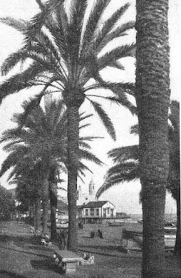 Paseo junto al mar, Sitges en 1934