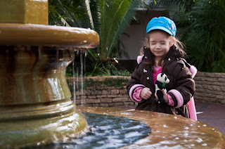 Throw a coin into the fountain and make a wish.