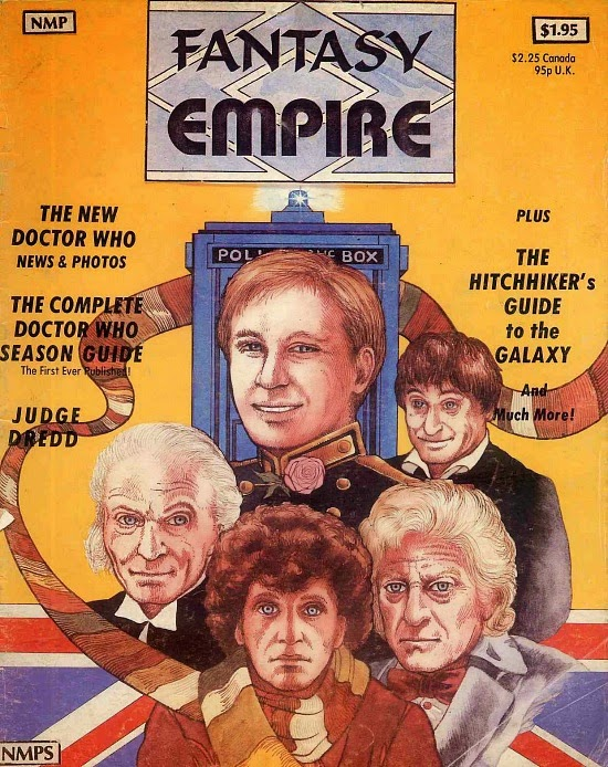 Fantasy Empire magazine July 1981 - Five Doctors