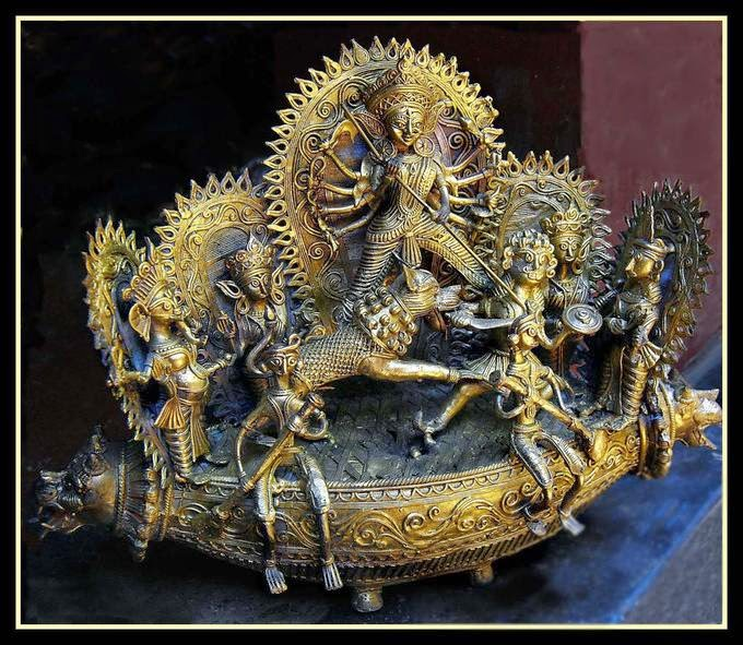 Handicrafts Of India Dhokra Tribal Art Of West Bengal India