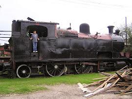 Locomotora 8A del Roca