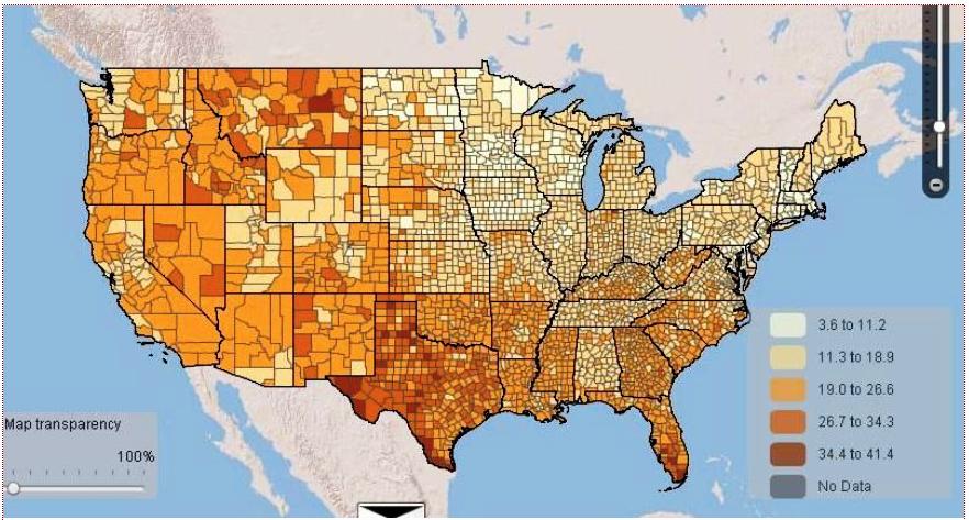 The Rural Blog - Mcdonalds us map