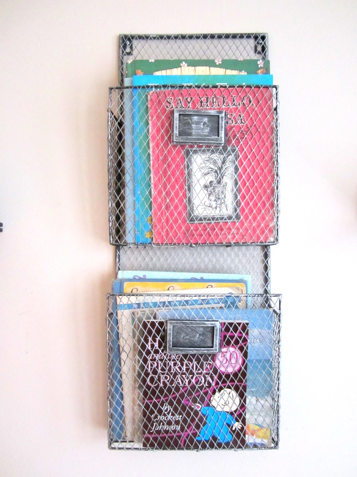 Wall Mount Book Rack