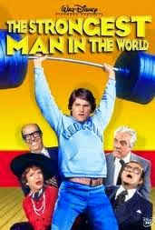 Disney's The Strongest Man in the World movie poster with Kurt Russell