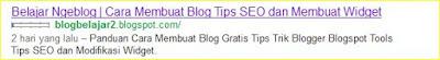 meta tag deskripsi blog