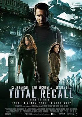 Portada de la película Desafio Total (Total Recall) 2012
