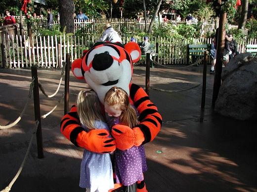 Disneyland character greet meet Anaheim