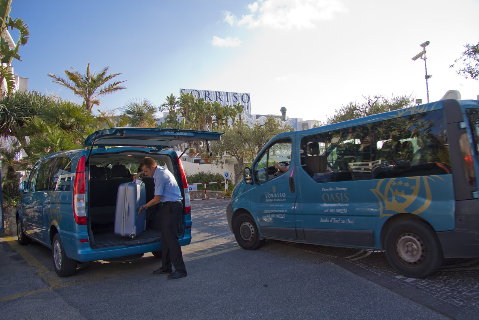 Servizi Sorriso Resort - Shuttle Bus