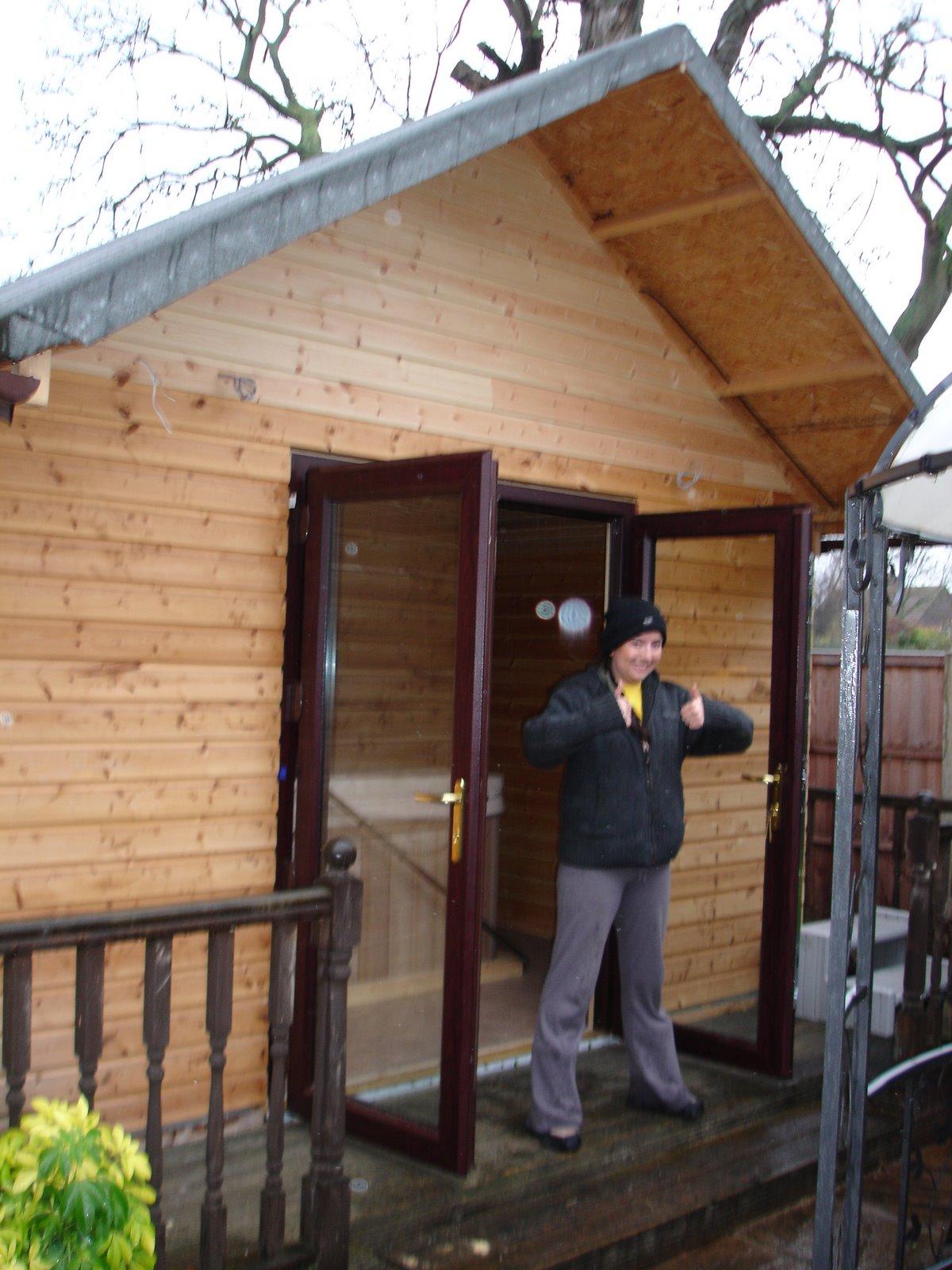 Handy Andy Ruskington Diy Log Cabin Home In Ruskington
