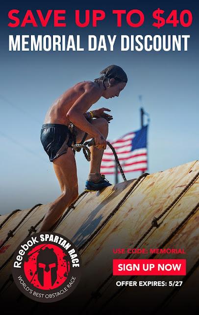 Spartan%2BMemorial%2BDay%2BDeal Here's a Spartan Race Memorial Day Discount Code