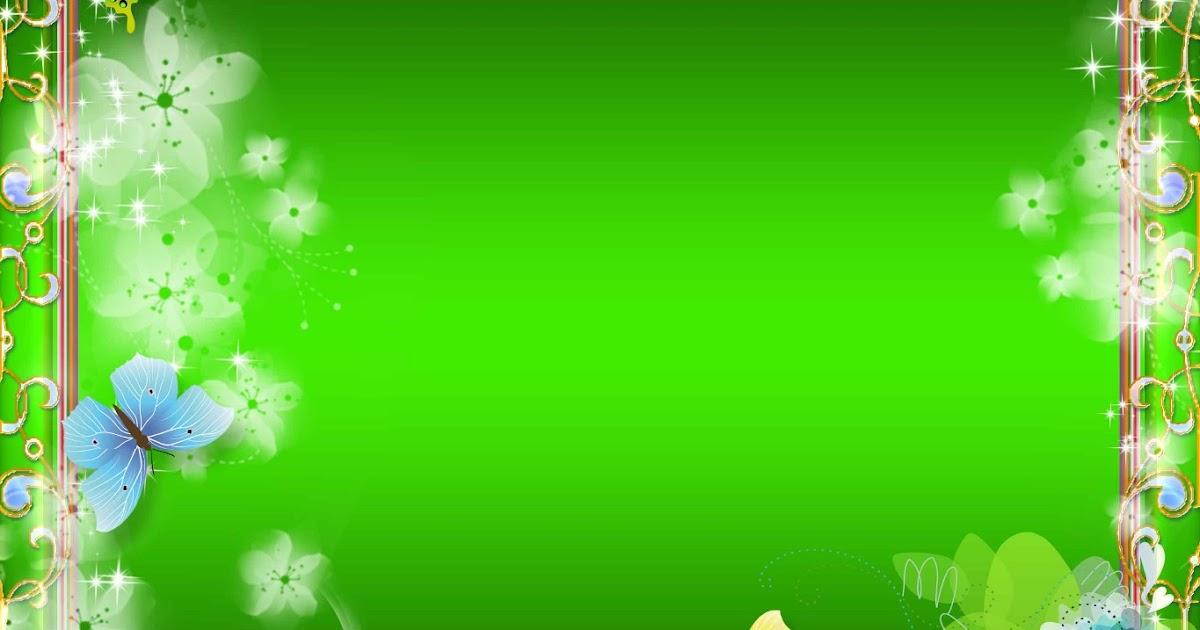 4 Mẫu khung hình xanh lá cực đẹp file PSD - công ty in ấn