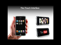 This shows an itouch that will eventually help students learn