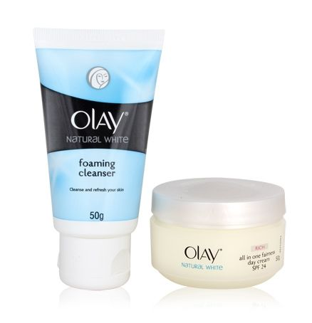 Olay Natural White Rich all in one Fairness Day Cream SPF 24 Review