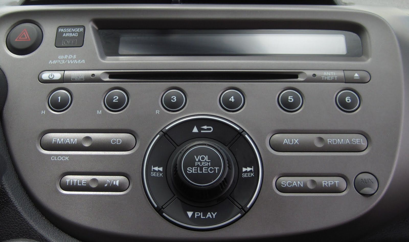 UI Flaws iPod Interface with Honda Fit Radio