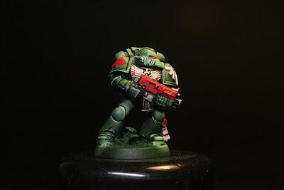 Marine Espacial de los Ángeles Oscuros de la caja de Warhammer 40000: Venganza Oscura