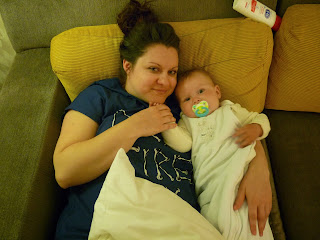 Freddie and Auntie Lauren