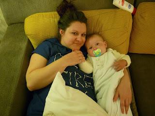 Freddie and Auntie Lauren