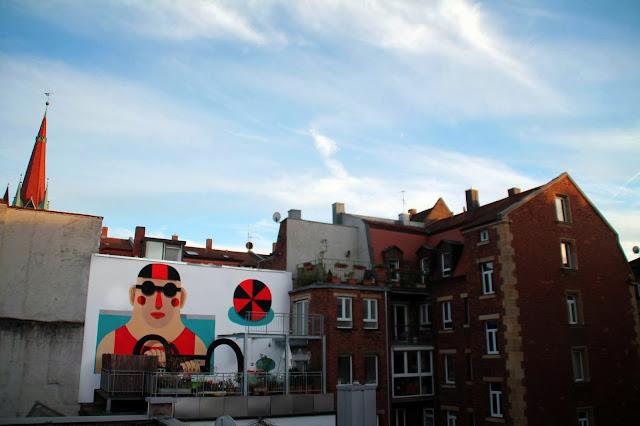 Street Art By Italian Muralist Agostino Iacurci Somewhere In Nuremberg, Germany. 3
