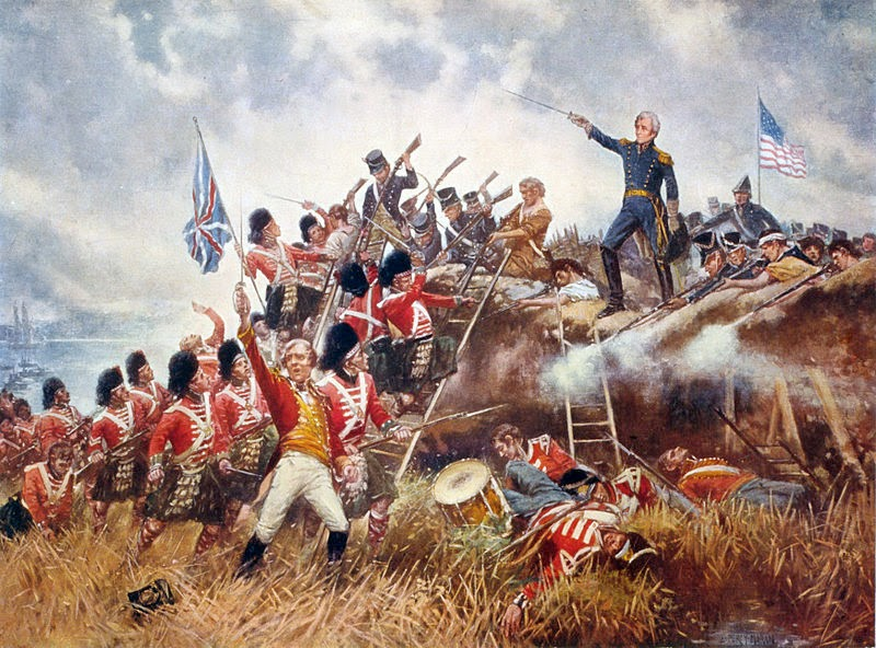 a history of andrew jacksons victory at the battle of new orleans A bloodless victory: the battle of new orleans the battle of new orleans in history and revised the history of andrew jackson's glorious victory at new.