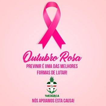 OUTUBRO ROSA, NÓS APOIAMOS ESSA CAUSA!
