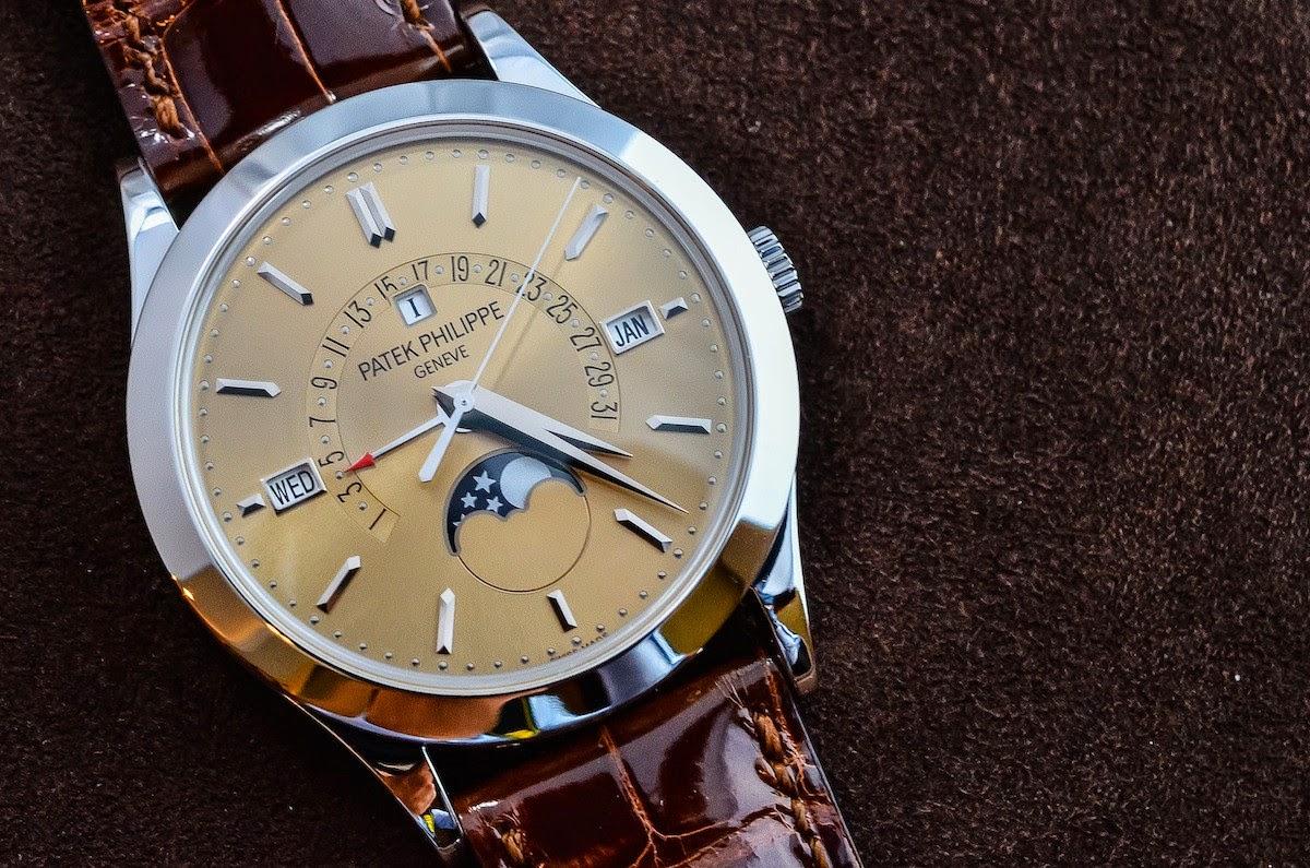 Perpetual Calendar Patek : Swiss design watches the new patek philippe perpetual